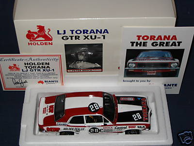 Peter Brock Model Car collection