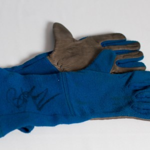 Allan Moffat signed gloves