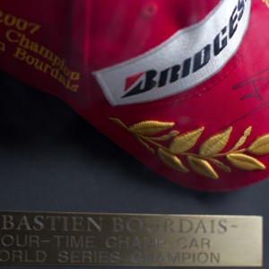 Sebastien Bourdais four-time champion hat