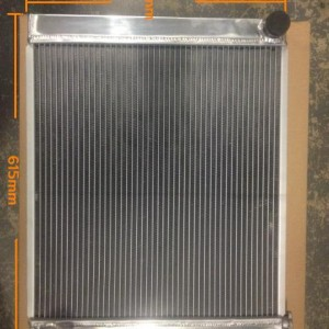 Universal 2 Row Alloy Radiator - Brand New - Suit 6 Cylinder or small V8
