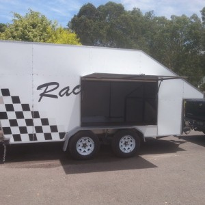 Race Car Trailer