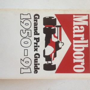 Marlboro Grand Prix Guide 1950-91 1992 Edition