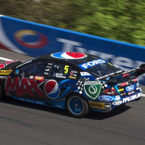 Mark Winterbottom's 2013 Bathurst 1000 winning Ford Falcon FG race car