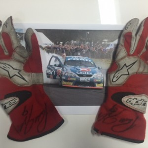 Russell Ingall's Championship Gloves