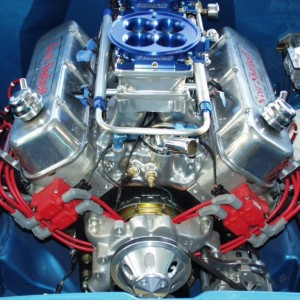 BBC Race Engine Fuel injected tunnel ram
