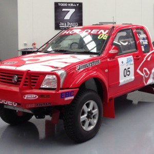 Peter Brock's 2004 Australasian Safari Holden Rodeo