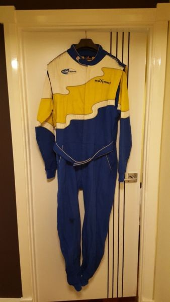 Flame Crusher Race Suit