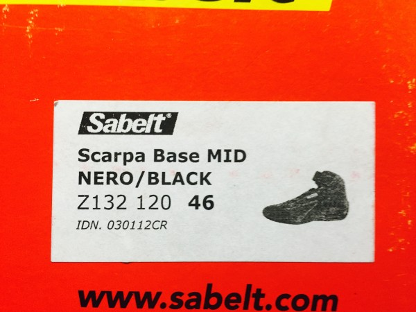 Brand new Sabelt race boots (MID)