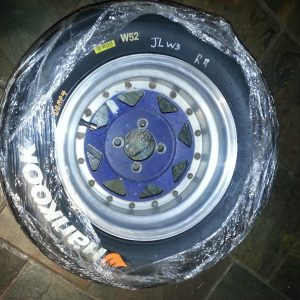 Hankook Wets - full set used once by F3 team