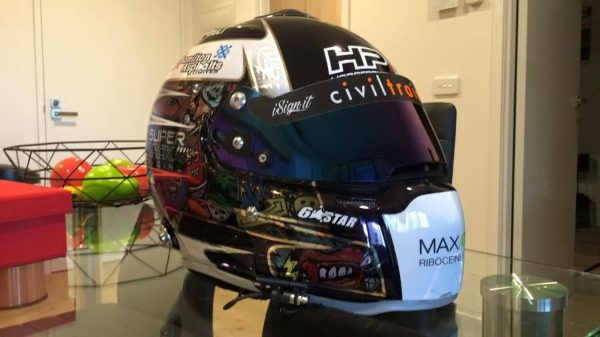 Wanted V8 Supercar driver gear, helmets, boots, gloves