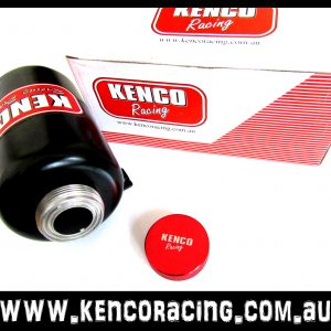Kenco Racing Custom Aluminium Power Steering Oil Tank Reservoir with Dash AN Outlets