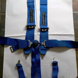 Willans 6-point harness 3inch webbing