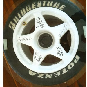Craig Lowndes Wheel Authentic