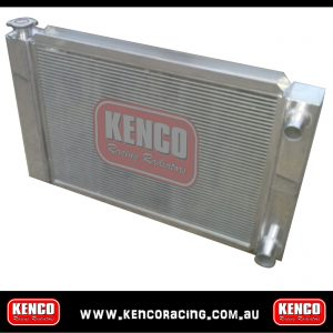 "Kenco 31""x19"" Aluminium Double Dual Pass Race Series Radiators"
