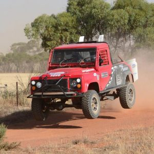 Land Rover Defender Off Road Race Car