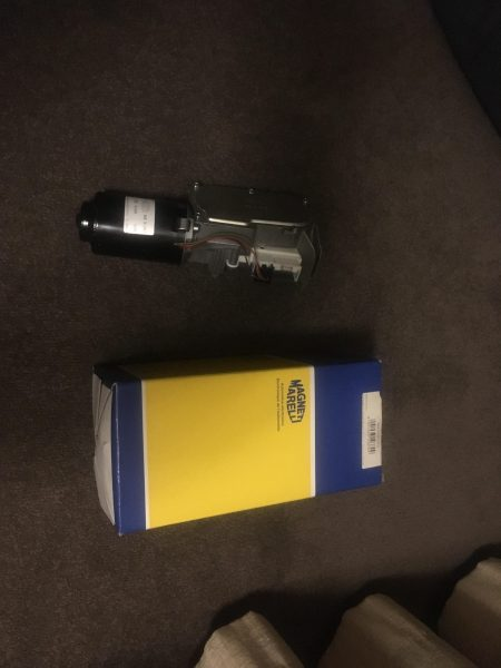 V8 Supercar wiper motor