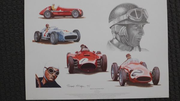 Fangio Poster