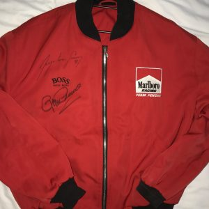 Senna-signed jacket