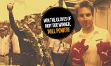 Win a pair of Will Power's Indy 500 gloves