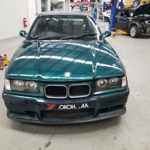 BMW E36 Coupe fitted with Refurbished S54