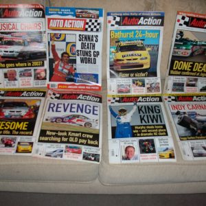 Auto Action Magazines X560  From 80s,90s, 00s Collectable