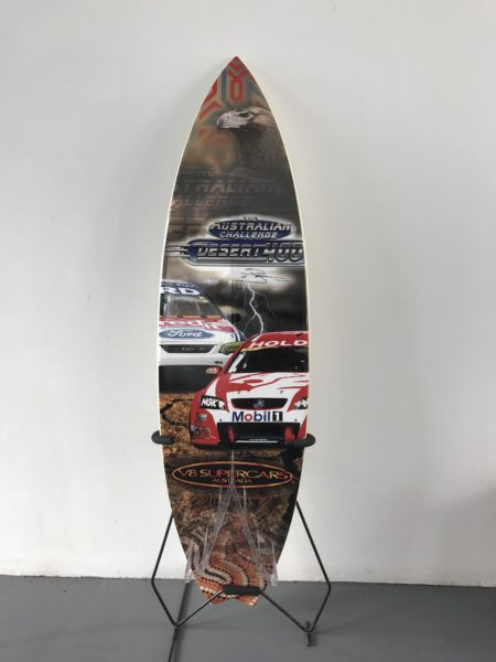 V8 Supercars Surfboard